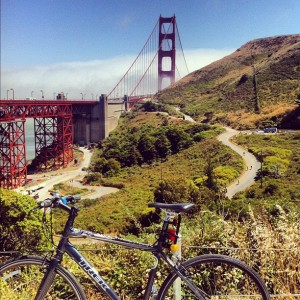 Golden Gate Bridge bike ride